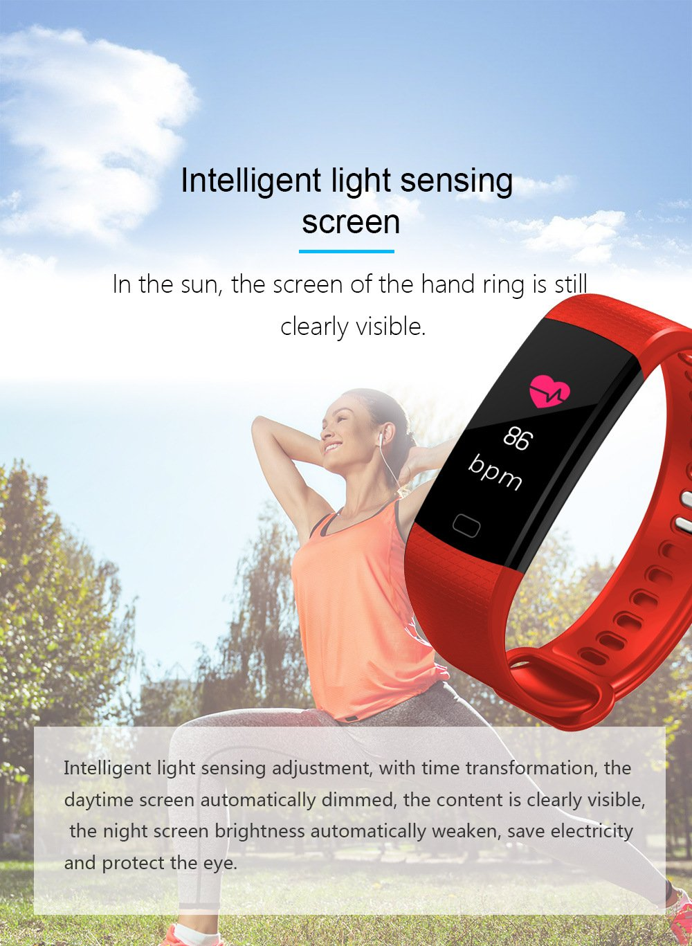 Hanmery Fitness Tracker with Heart Rate Monitor, IP67 Waterproof Sports Smart Wristband with Sleep Monitor Calorie Counter Pedometer Find Phone for Kids Women Men (Black)