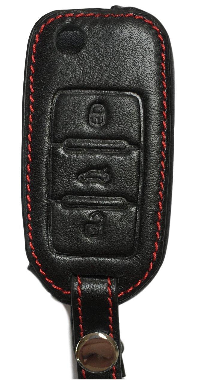 Bolsa de llaves - Piel Auténtica para Volkswagen Polo Golf 5 ...