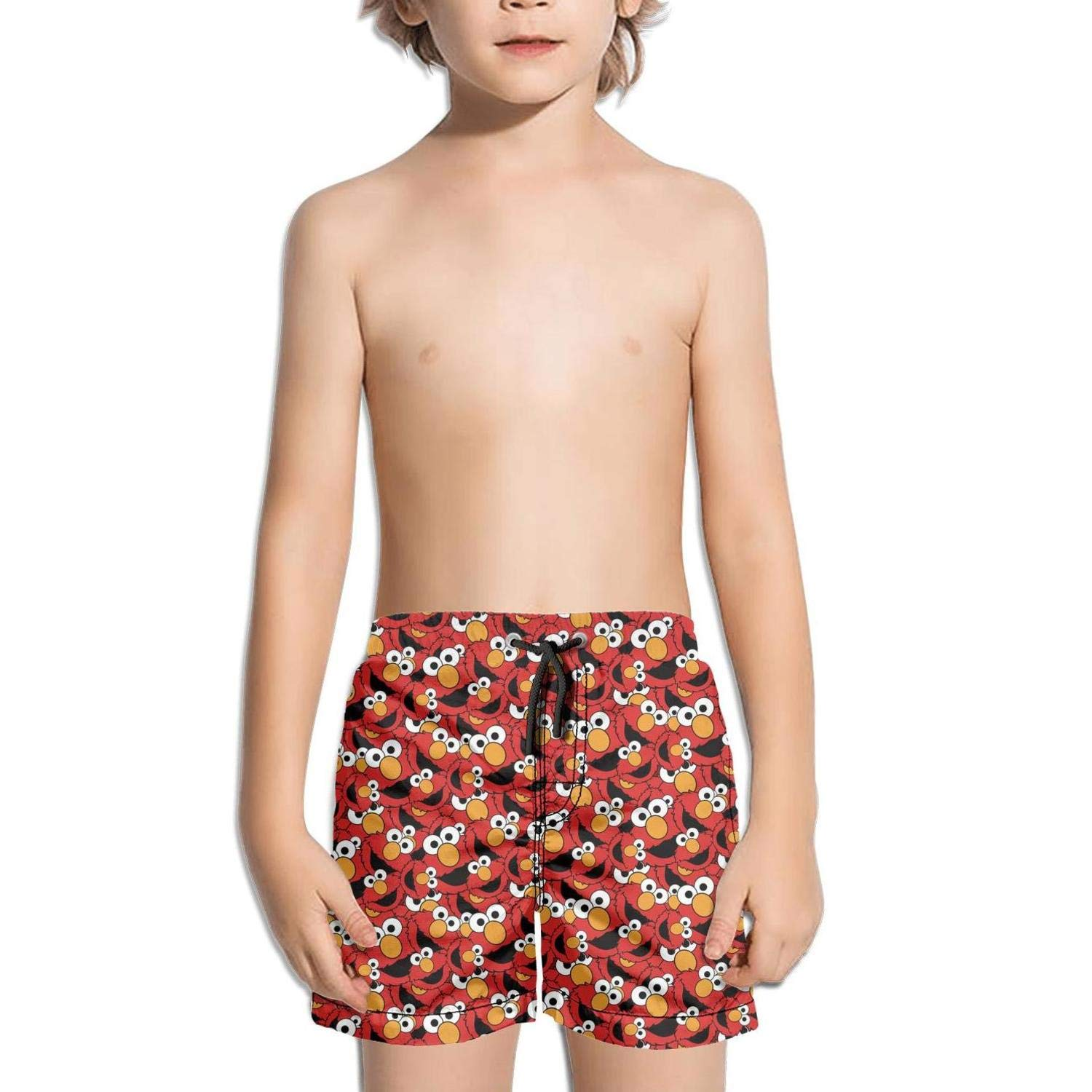 hhhuiopp Kids Waterproof Cool Slim Fit Stretch Board Swimming Trunks Shorts