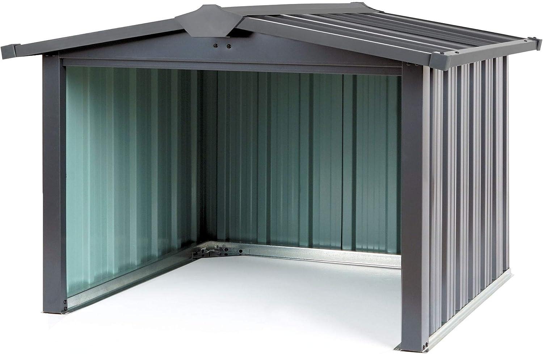 Zelsius Garaje de metal para robot cortacésped, 86,5 x 88 x 60 cm, garaje para robot cortacésped, cubierta para robot cortacésped, garaje: Amazon.es: Coche y moto