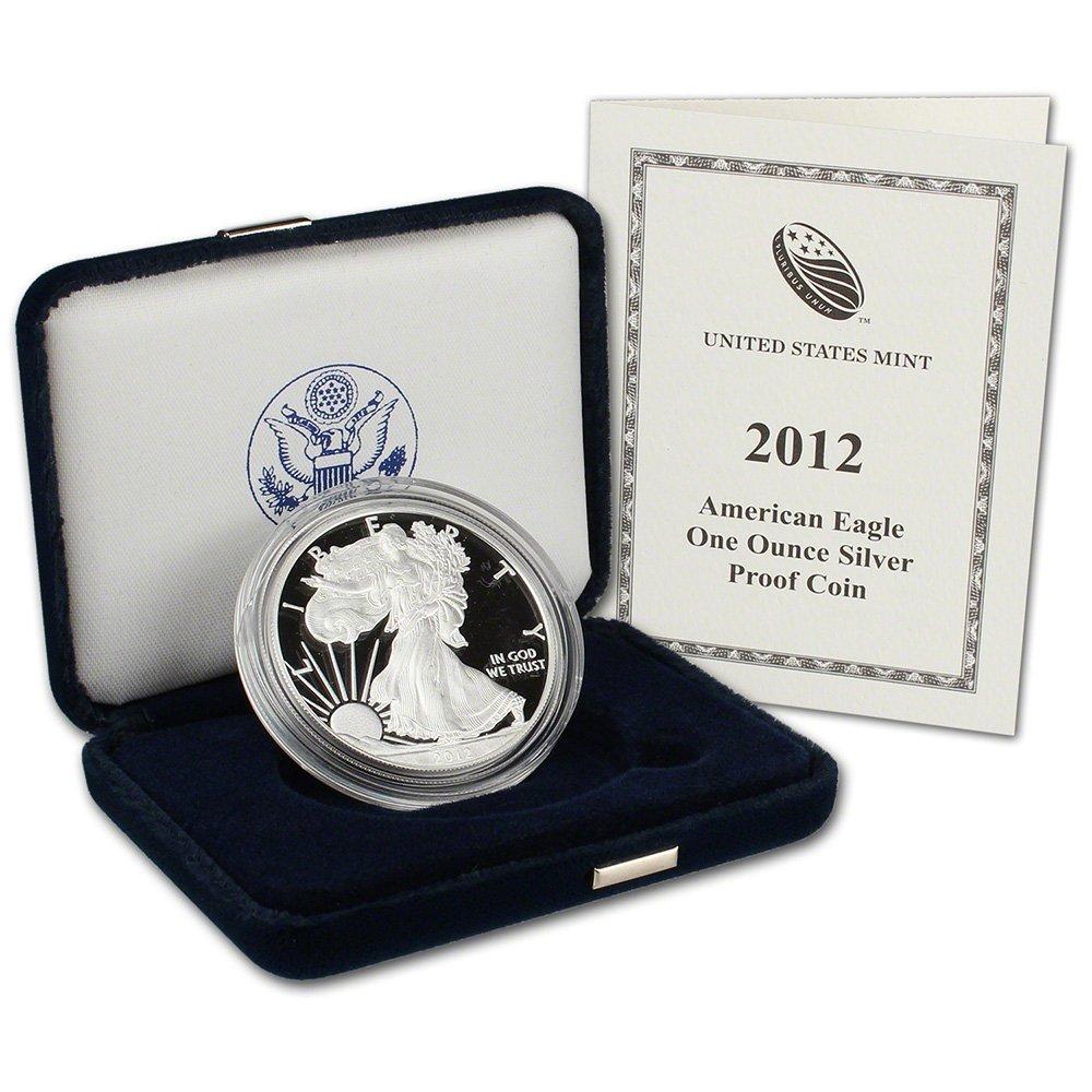 2012 Silver American Eagle Ounces 2 Mint