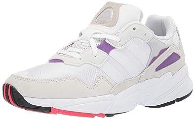 adidas Originals Men's Yung-96, Crystal White/Active Purple, 10 M US