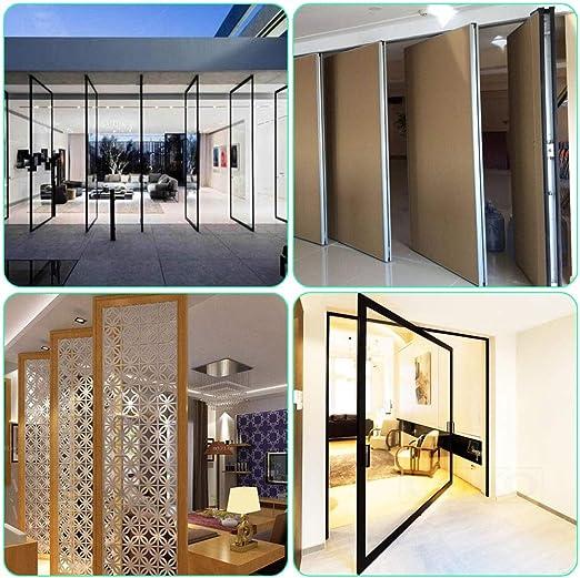Dreamtop - Bisagras pivotantes para puerta oculta (acero inoxidable, rotación de 360 grados, 2 unidades): Amazon.es: Bricolaje y herramientas