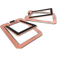 Kanto S2 Desktop Speaker Stands for Small Speakers, Copper
