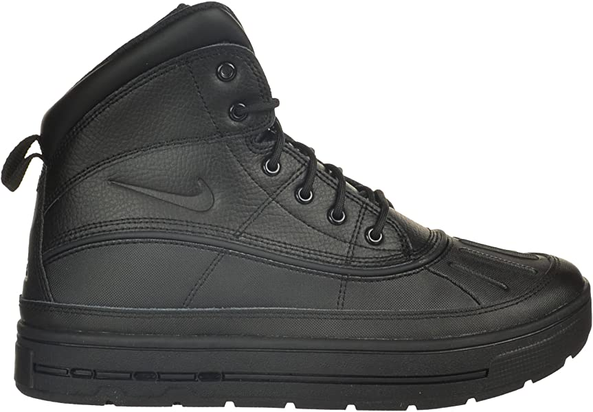 timeless design 01462 c344e Nike Woodside II High (GS) Big Kids  Boots Black Black 524872-001