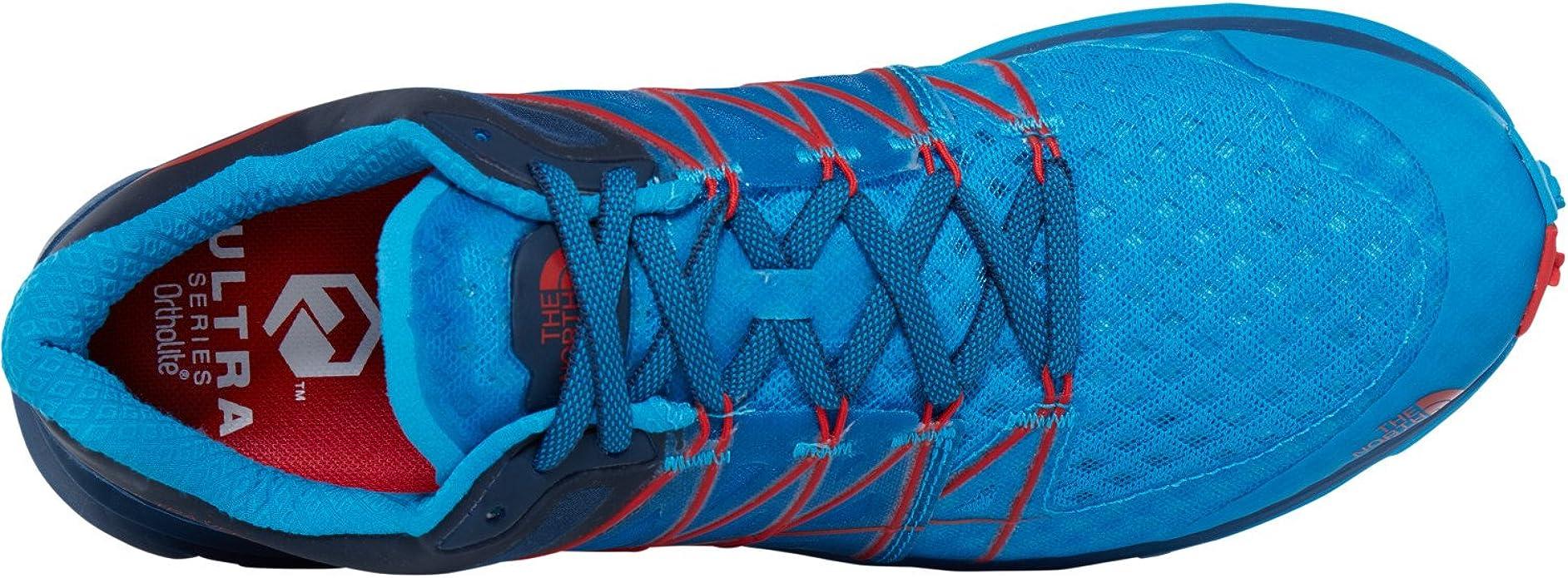 The North Face - Ultra Vertical - Zapatillas Trail - Shady Blue/Hyper Blue: Amazon.es: Zapatos y complementos