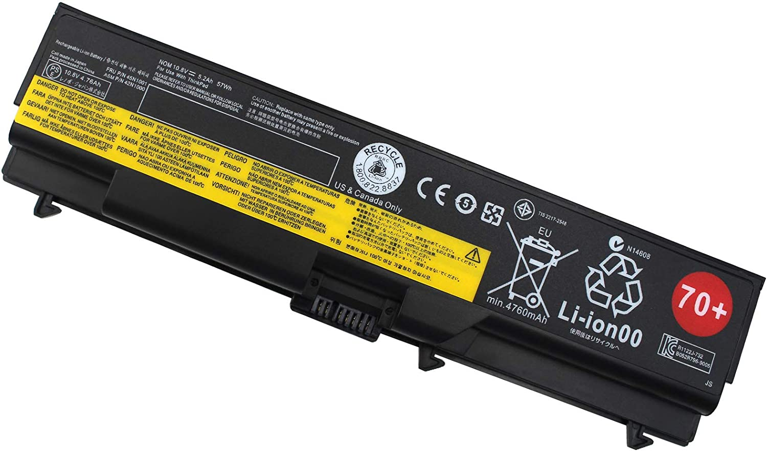 T430 Laptop Battery for Lenovo ThinkPad W530 W530i W520 W510 T410 T420 T420i T510 T520 T530 L412 L420 L430 L512 L520 L530 0A36303 45N1001 0A36302 42T4791 45N1011 45N1005 42T4235