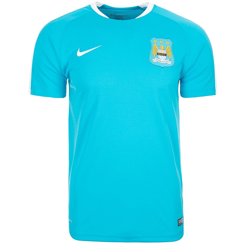 2015-2016 Man City Nike Flash Training Shirt (Blue) B011KDLFHC Large 42-44