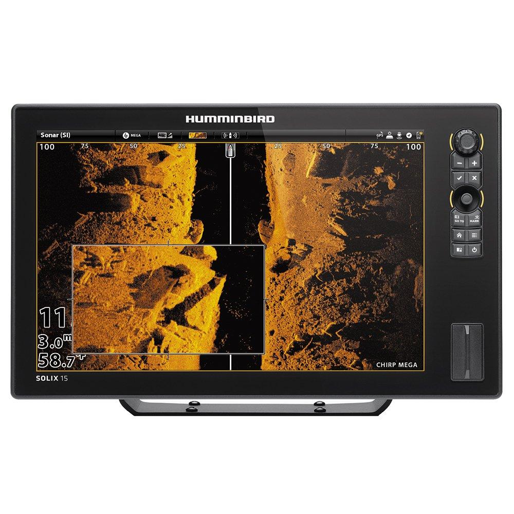 Humminbird 410420-1 Solix 15 Chirp Mega Si GPS Fishing Charts & Maps