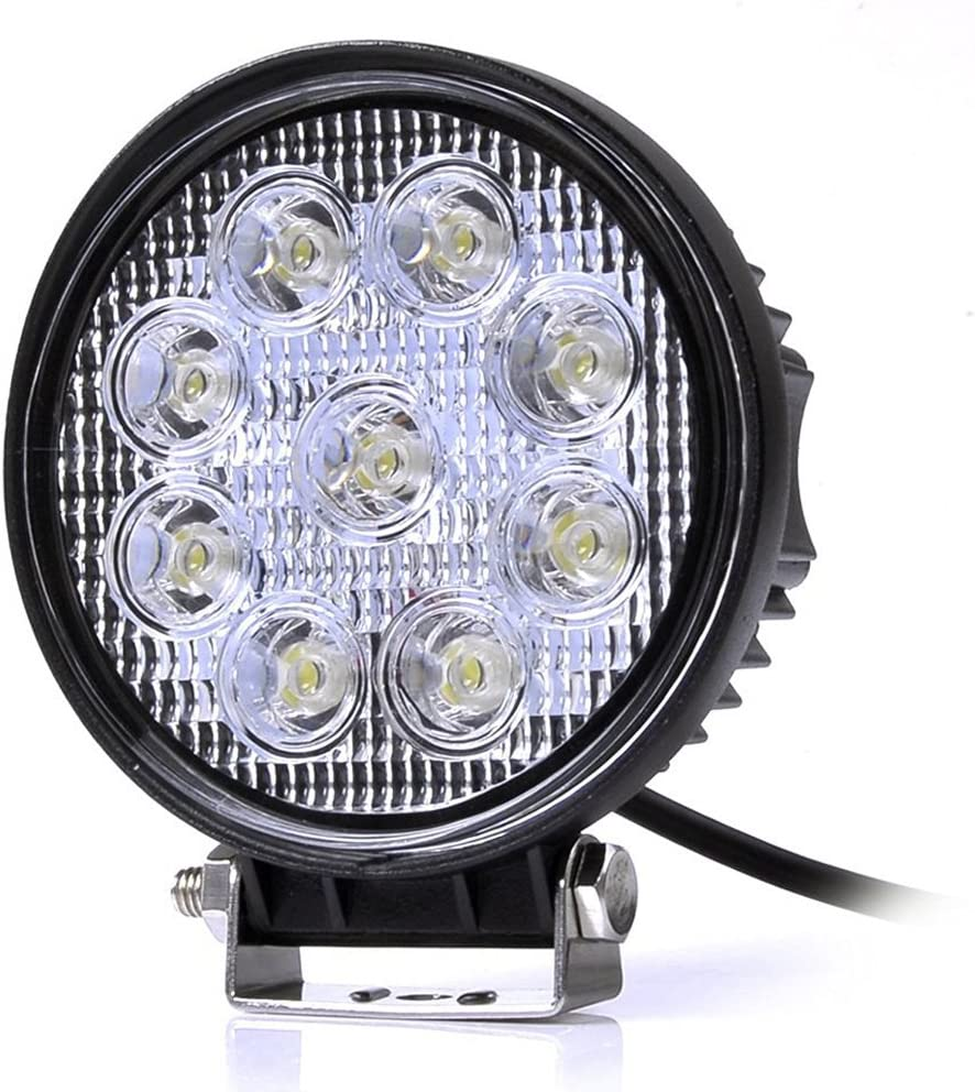 Leetop 10X 48W 16 LED IP67 Proiettore LED Worklight Outdoor Spotlight Offroad Lampada Luce ausiliaria per Jeep SUV 10-24V