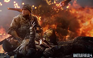 "050 Battlefield 2 3 4 War Military Game Wall Poster 40/""x24/"""
