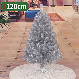 l.e.i. Artificial Fibre Optic Christmas Tree,with Stand Base Branches Pine Christmas,Premium Encrypted Tree,for Xmas Tree Seasonal Home Christmas Party Decoration