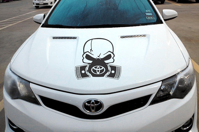 Amazon com toyota hood pistons decal vinyl sticker trd car truck suv handmade