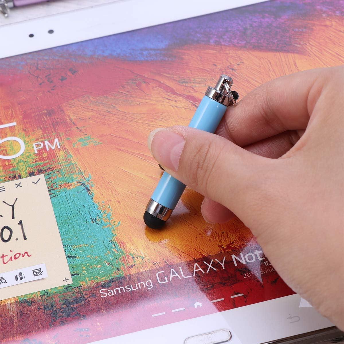 POPETPOP 12pcs stylet capacitif stylo d/écriture manuscrite /à /écran tactile r/étractable de pr/écision pour iphone samsung ipad couleur de Randomed
