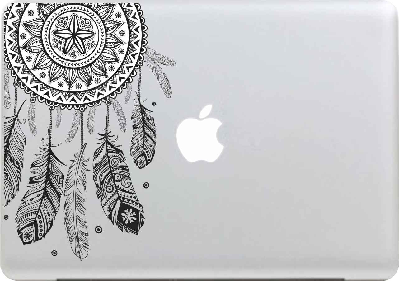 Cute cat Sticker Superb Removable Art Vinyl Decal Stickers for Macbook Air Pro Mac 13 Inch or Laptop