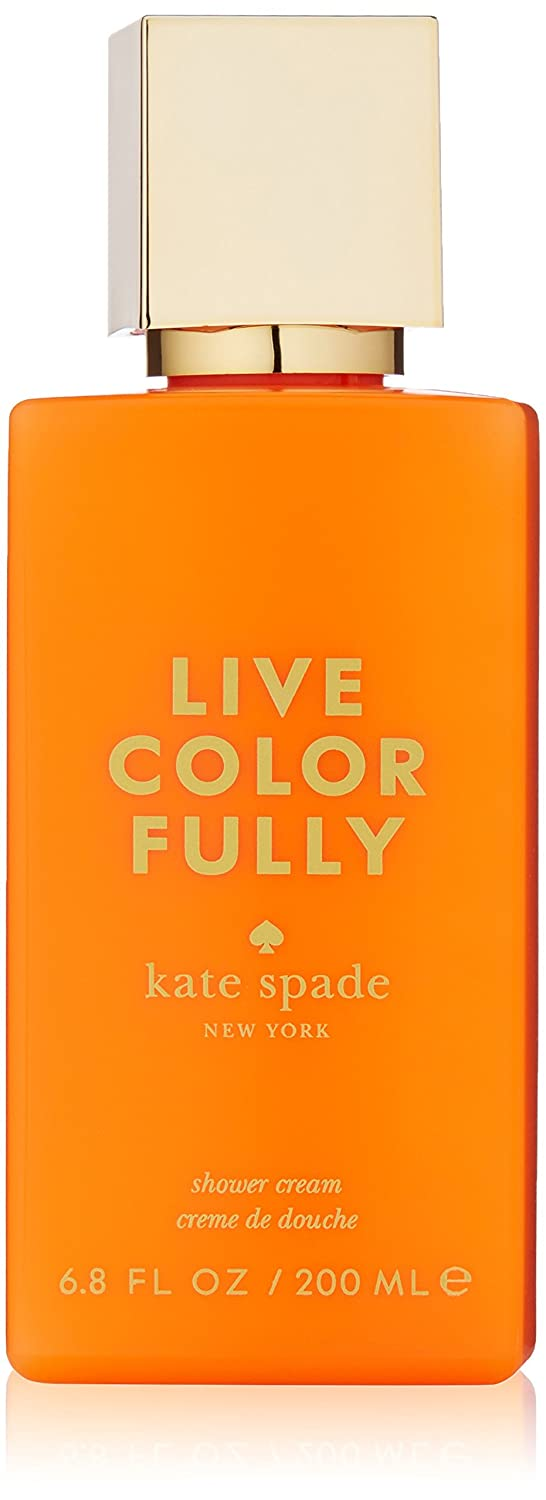 Kate Spade Live Colorfully Shower Cream, 6.8 oz.