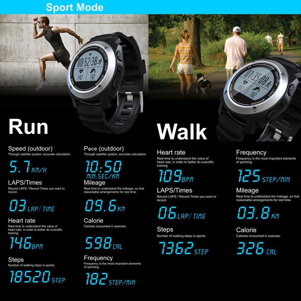 Reloj inteligente, S928 GPS deportes al aire libre ...