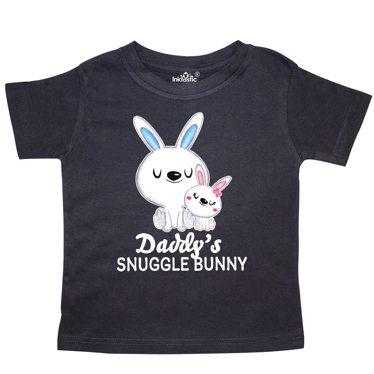 inktastic Daddys Snuggle Bunny Easter Toddler T-Shirt
