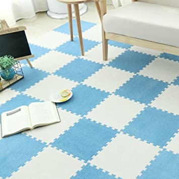 Teppiche Bereich Rund Stitching teppich Schaumstoff-matte Kinder ...