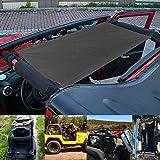 Dolloress Car Roof Rest Bed Hammock for Jeep Wrangler & Wrangler Unlimited LJ YJ TJ JK JL Outdoor Car Trip Travel