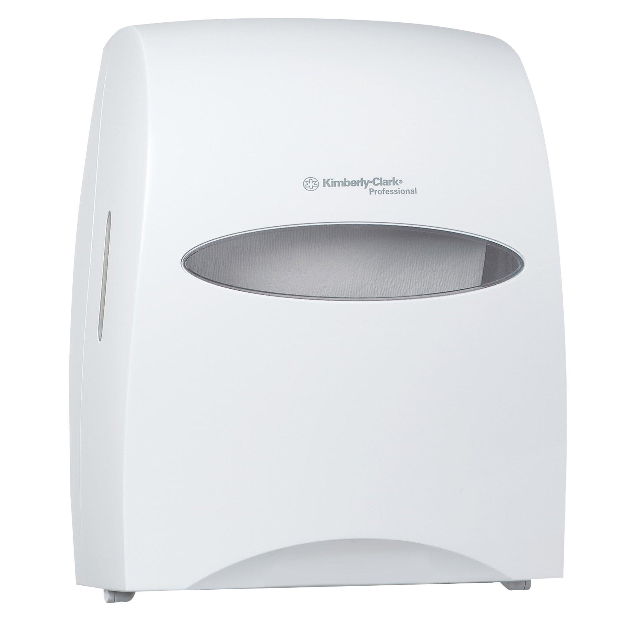 WINDOWS 09991 White SaniTouch Roll Towel Dispenser