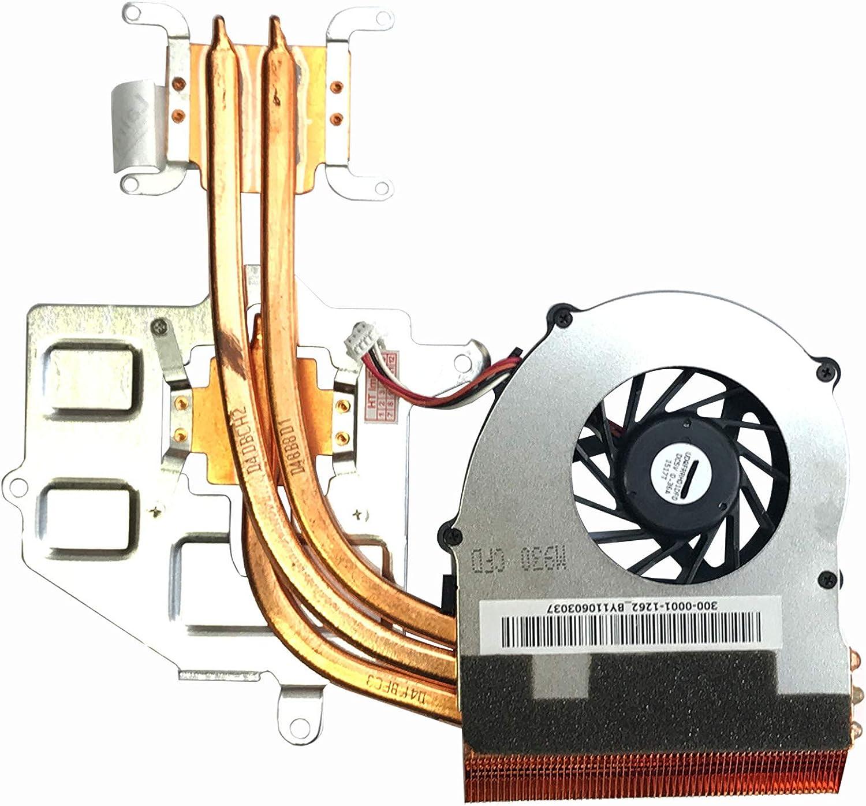 Ventilador con disipador de calor compatible con Sony Vaio PCG-81212M, VPC-F13, VPC-F12, VPC-F11, VPC-F1, VPC-F1, VPC-F, PCG-81213M