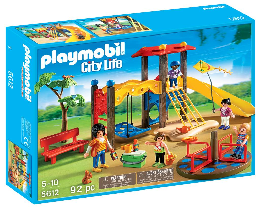 playmobil playground set toys games. Black Bedroom Furniture Sets. Home Design Ideas