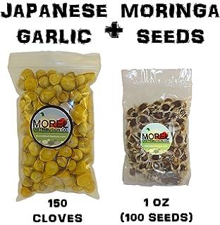 Amazon.com: Pequeño Tamaño japonés Ajo//Ajo Japones (100 ...