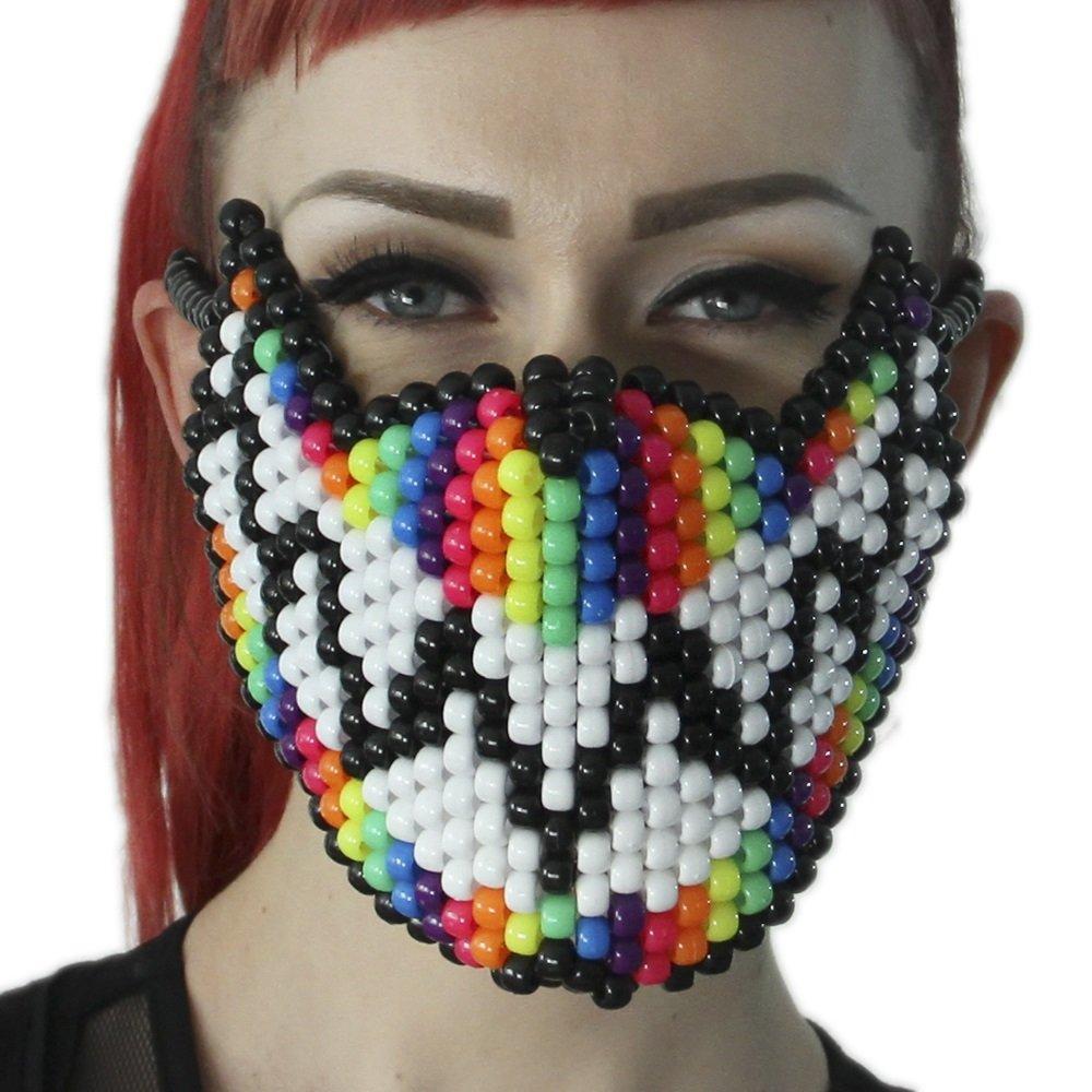 Feed Me Rainbow Full Kandi Mask by Kandi Gear