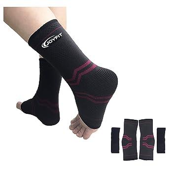 Fascitis Plantar calcetines con arco y tobillo apoyo de compresión, soporte, pie cuidado compresión
