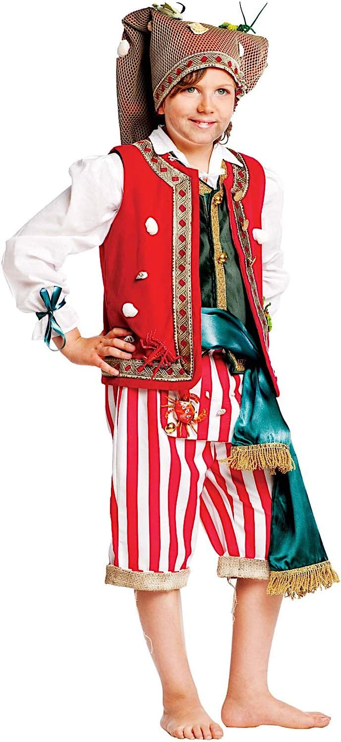 VENEZIANO Disfraz Pescador BEB Vestido Fiesta de Carnaval Fancy ...