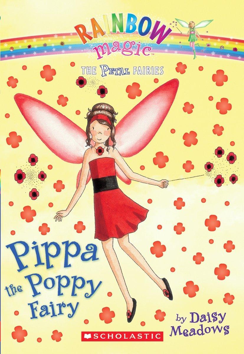Petal Fairies #2: Pippa the Poppy Fairy: A Rainbow Magic Book pdf