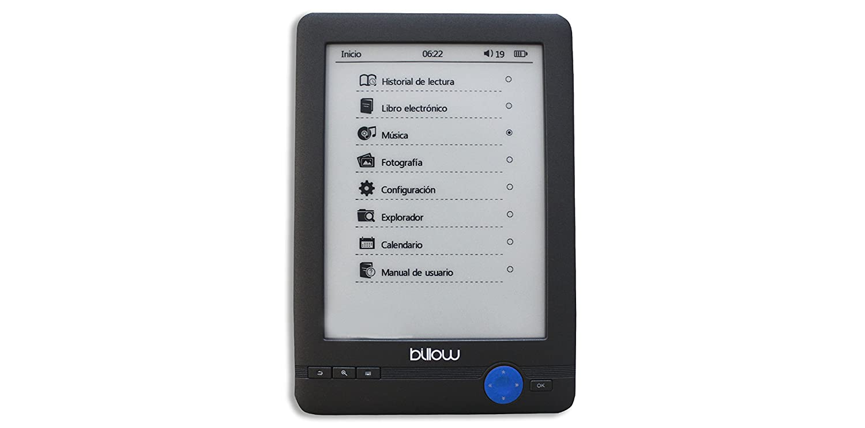 Billow Technology E03T - Libro electrónico con Pantalla táctil ...