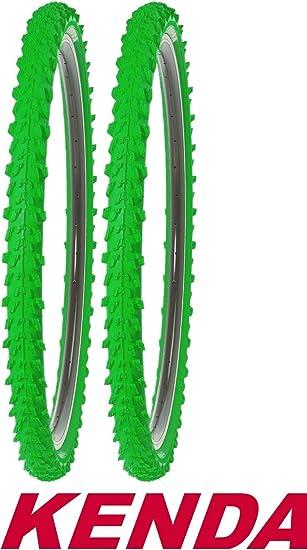 Kenda – Cubiertas para bicicleta (2 unidades, 26 pulgadas 50 – 559 ...