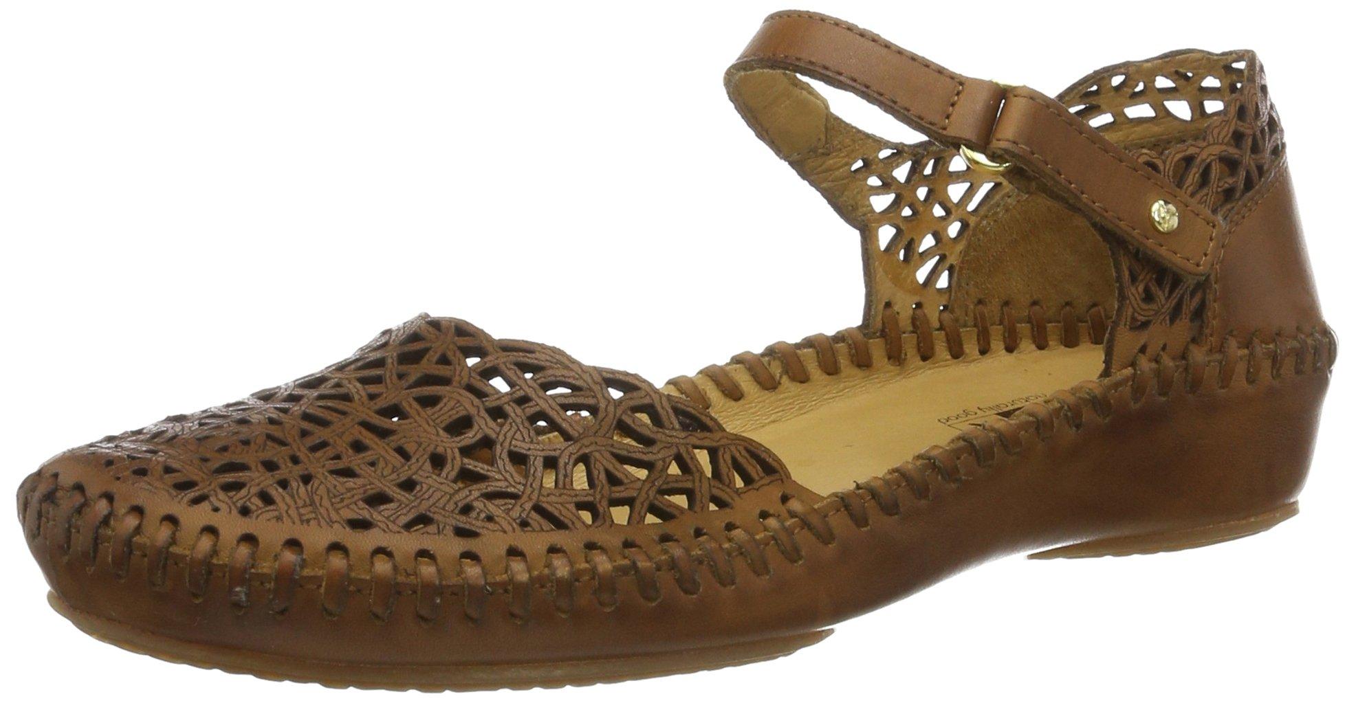 PIKOLINOS Womens Puerto Vallarta Mary Jane Sandal Brandy Size 40 EU (9.5-10 M US Women)