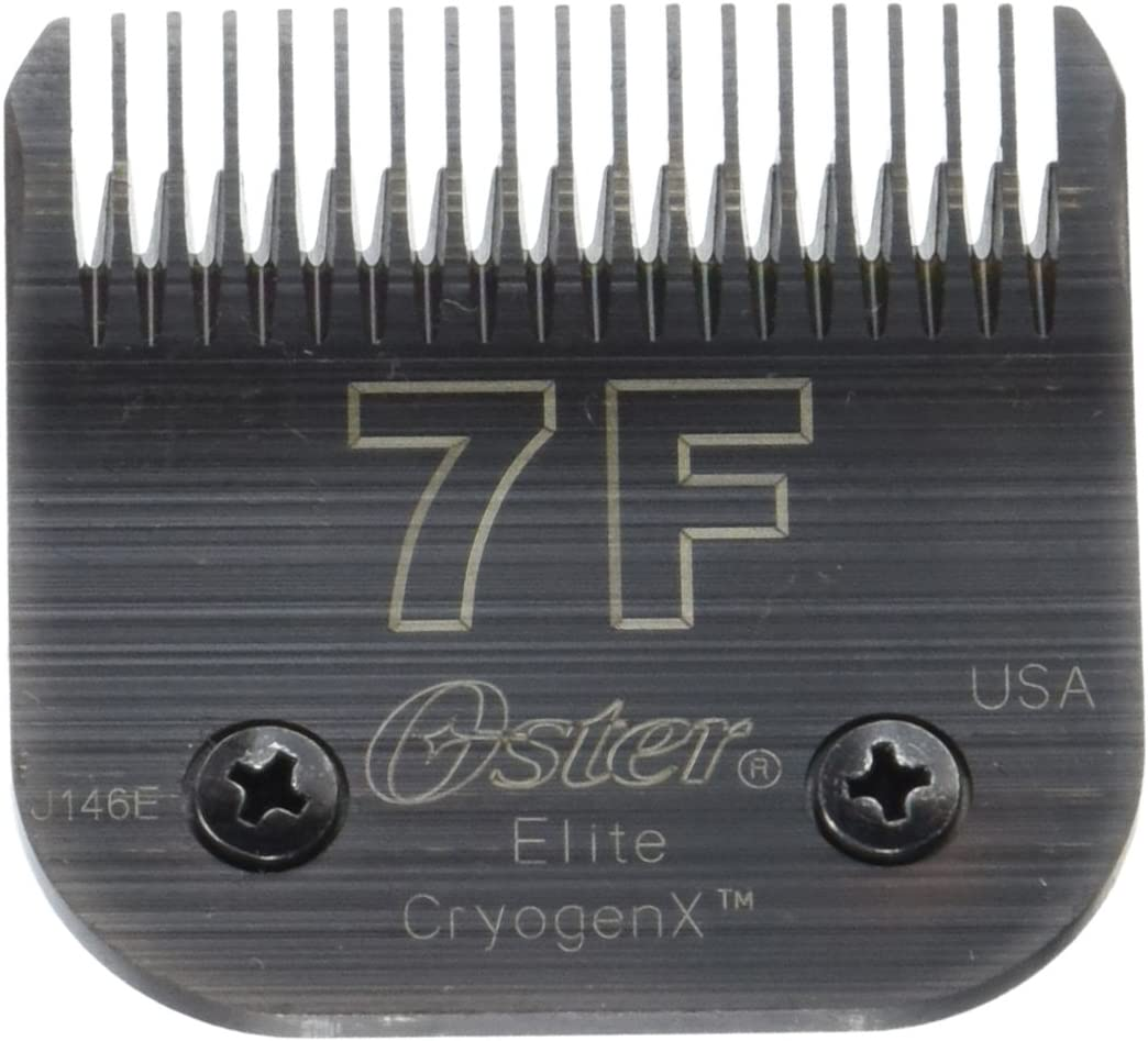 Oster CryogenX Elite Detachable Pet Clipper Blade, Size 7F (078919-016-005)