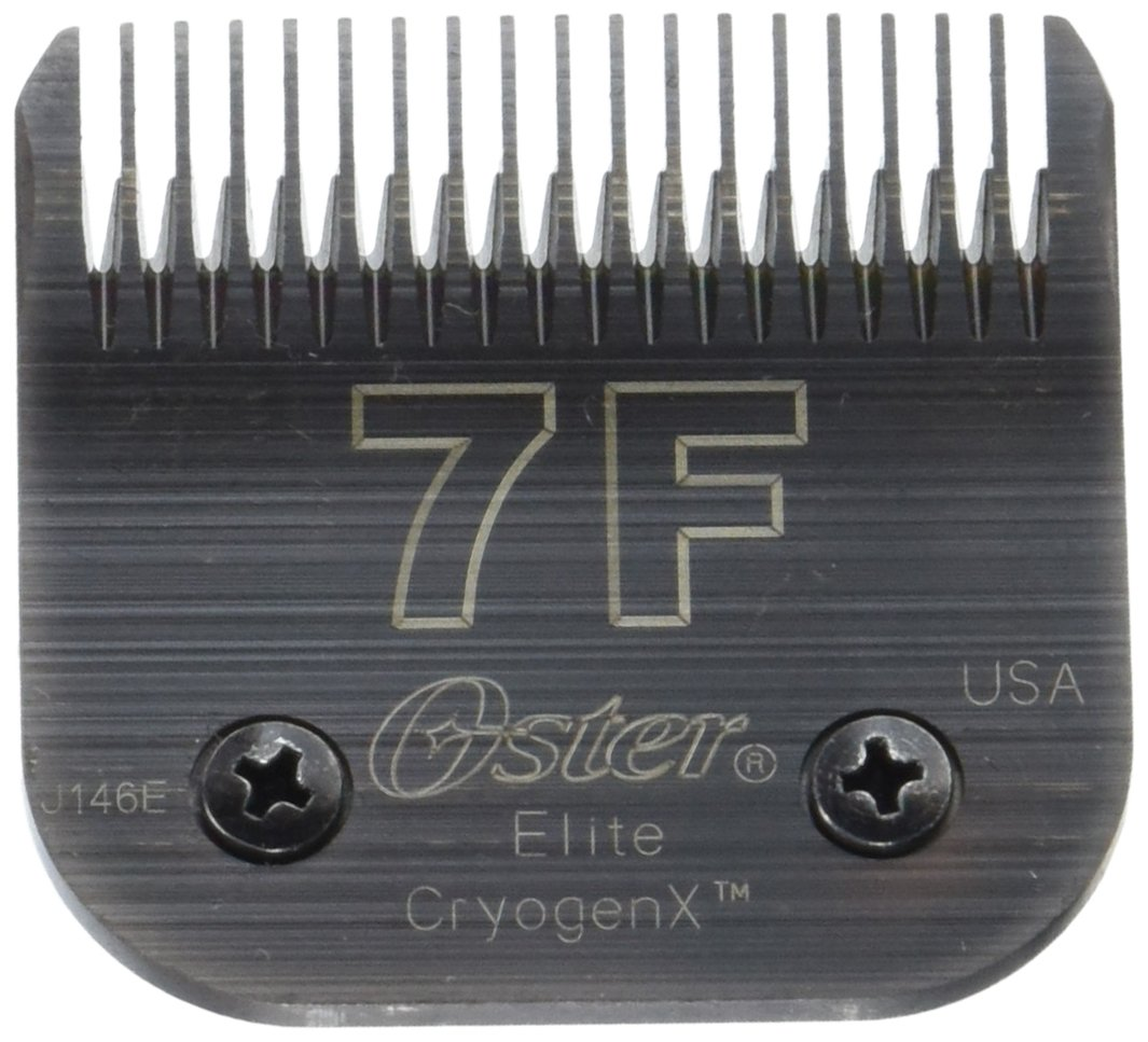Oster CryogenX Elite Detachable Pet Clipper Blade, Size 7F (078919-016-005) by OSTER