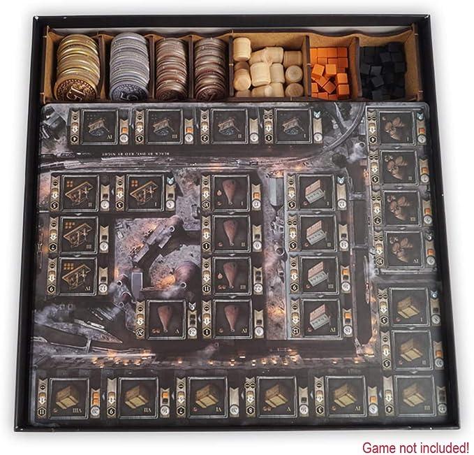 docsmagic.de Organizer Insert for Brass: Birmingham Box - Encarte: Amazon.es: Juguetes y juegos