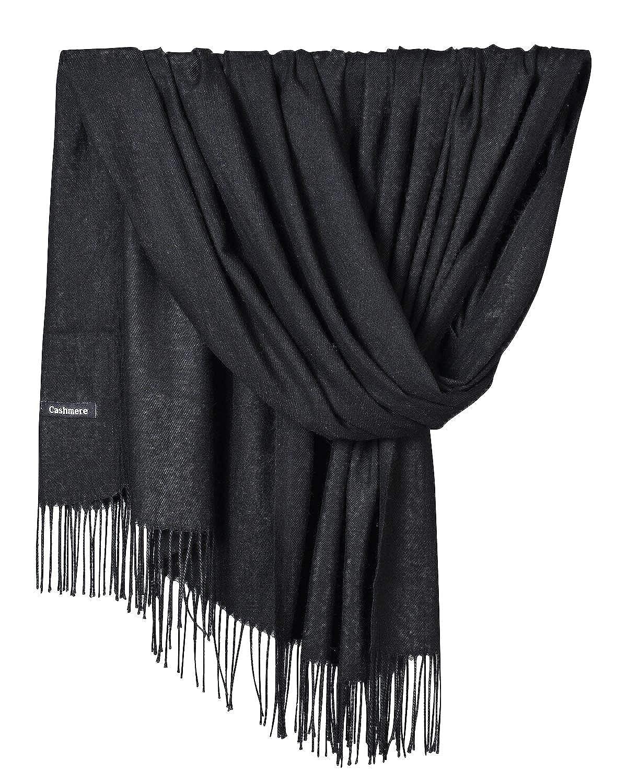 YAOMEI Unisex Mujer Bufanda, 2018 Mujer invierno lujosa ligera y suave Chales Estolas Fulares Bufanda Pañuelo caliente