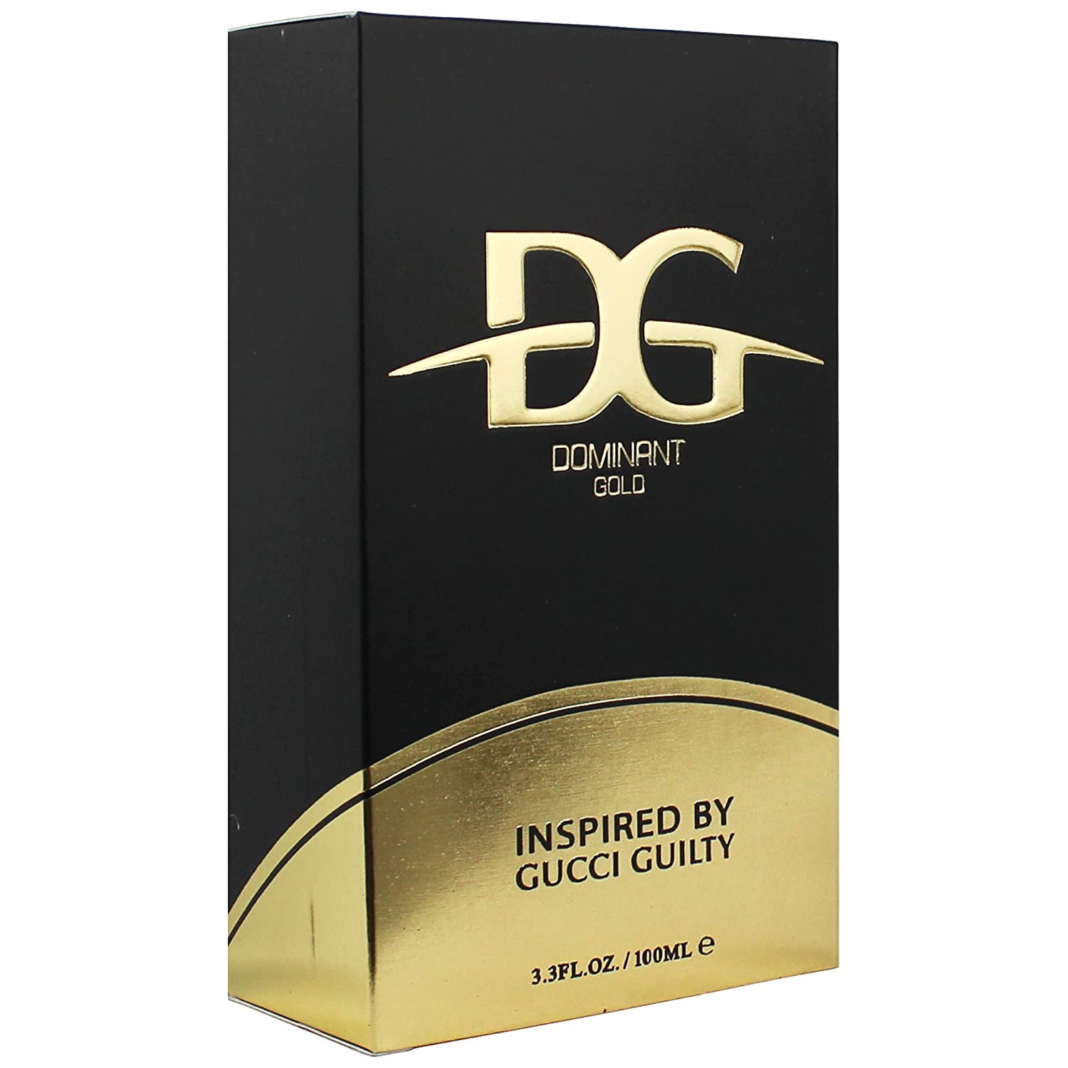 Amazon.com : Dominant Gold Eau De Toilette Cologne For Him 3.4 Fl. Oz./ 100 ml - Inspired By Designer Guilty Cologne : Beauty