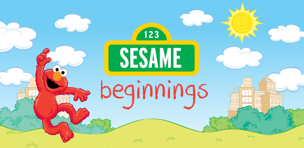 sesame beginnings coloring pages - photo#36