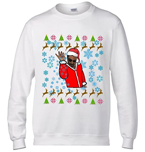 Christmas Sweater Salt Bae Santa Ugly Sweater Ladies Mens Sweatshirts  Christmas Party Outfit Funny #SaltBae