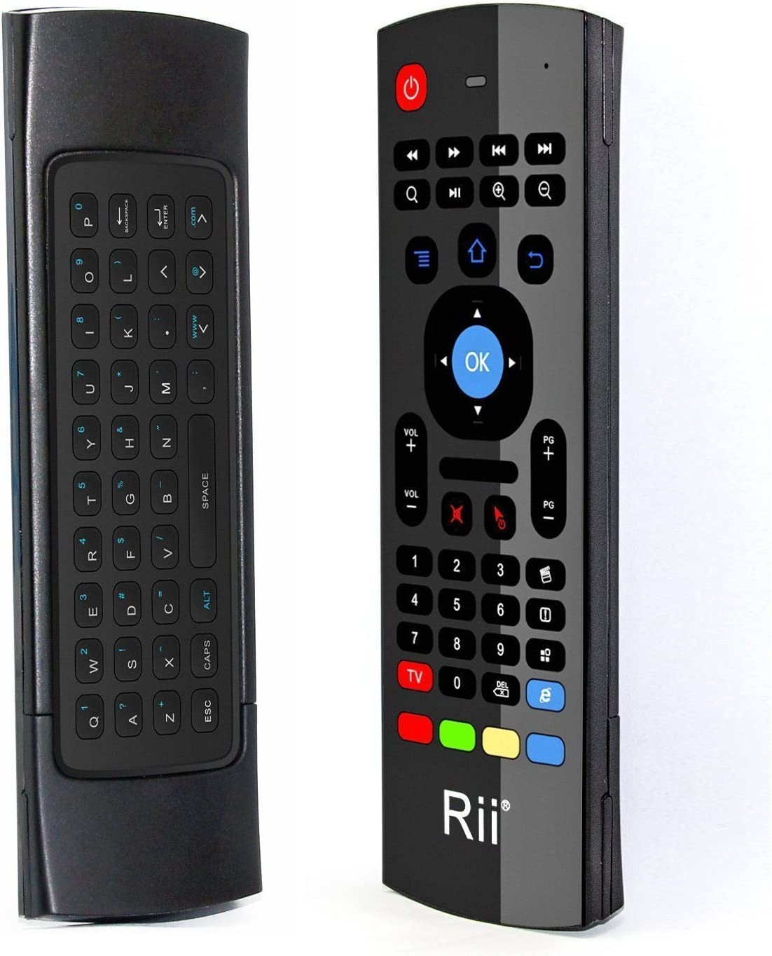 Rii MX3 Multifunction 2.4G Fly Mouse Mini Wireless Keyboard & Infrared Remote Control & 3-Gyro + 3-Gsensor