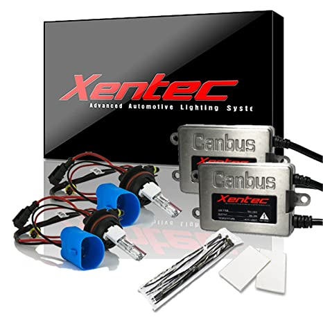 Xentec Xenon bulb 9007 (HB5) 6000K Hi/Lo bundle with 45W Error Free on 9007 hid installation guide, 9007 hid plug, 9007 hid lights,