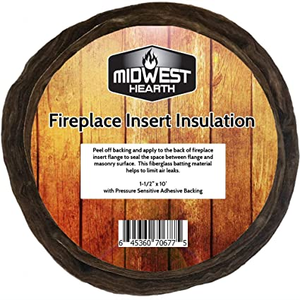 Amazon Com Midwest Hearth Fireplace Insert Insulation 10 Roll W