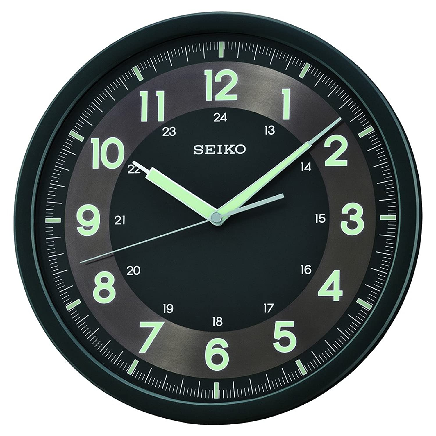 Amazon seiko qxa628krh wall japanese quartz wall clock watches amipublicfo Images