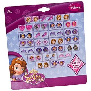 Joy Toy 'Sofia Stickers Earrings Set (Pezzi, Multicolore)