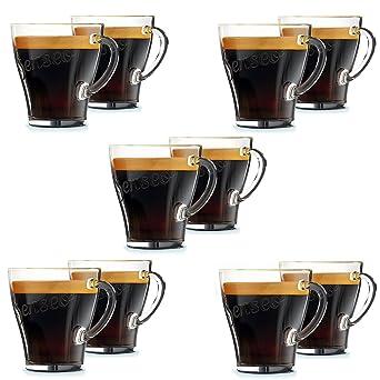Original Senseo exclusivo café Espresso café vaso vasos de chupito vasos 120 mm (Pack de