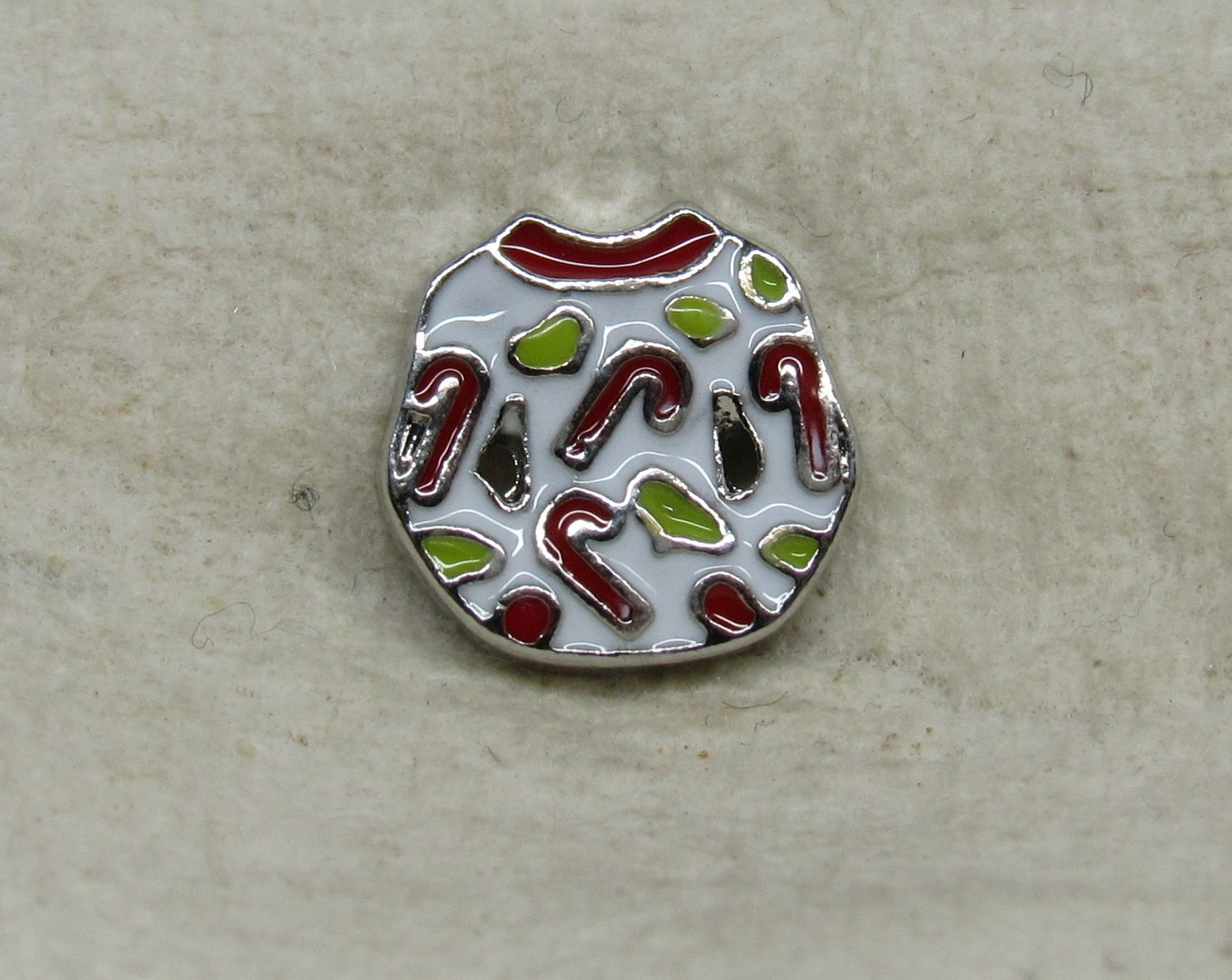 Christmas Ugly Sweater Floating Charm