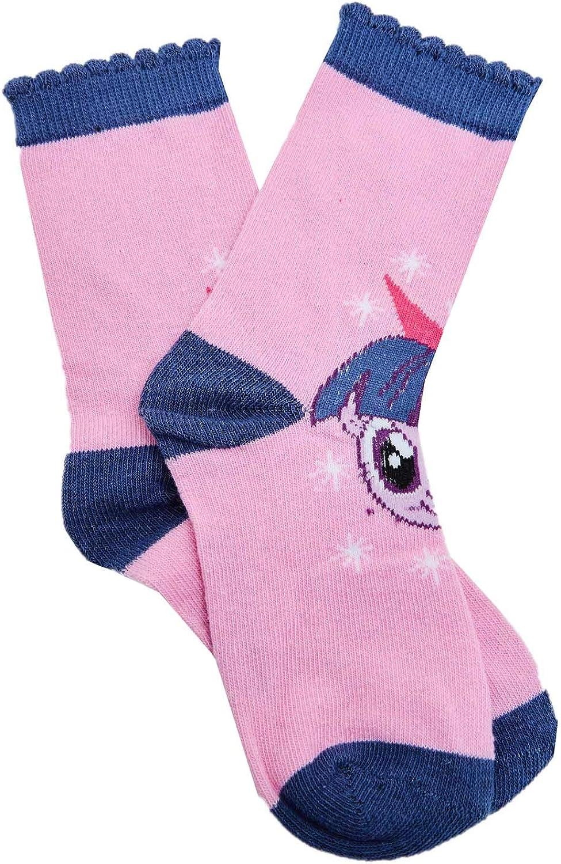 rosa, viola, bianco, turchese Rarity e Pinkie Pie MLP My Little Pony Horses Calzini a motivi colorati con Twilight Sparkle Rainbow Dash per ragazze